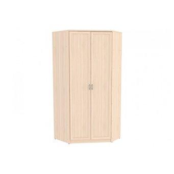 Несимметричный угловой шкаф со штангой и полками арт. 403 Гарун