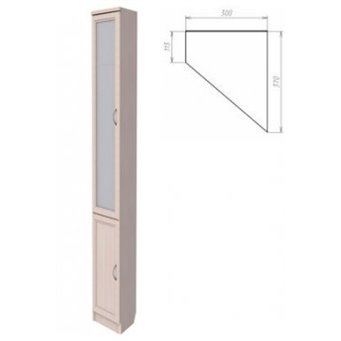 Шкаф для книг угловой арт. 209 Гарун
