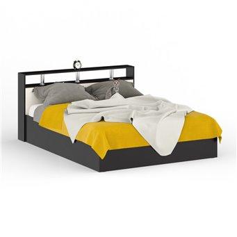 Кровать Камелия 1600 венге/дуб лоредо