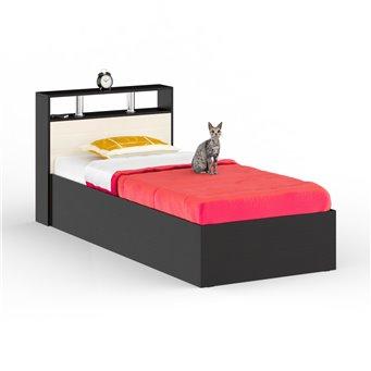 Кровать Камелия 900 венге/дуб лоредо