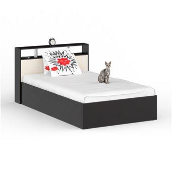 Кровать Камелия 1200 венге/дуб лоредо