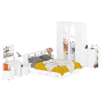 Спальня Камелия № 10 белый