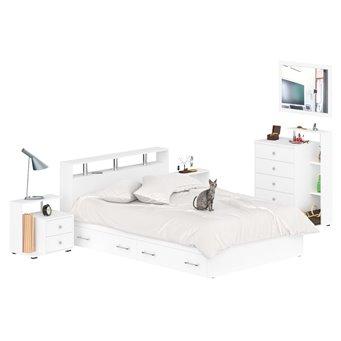 Мебель в спальню Камелия № 12 белый