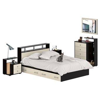 Мебель в спальню Камелия № 12 венге/дуб лоредо