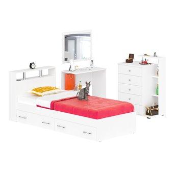 Спальня Камелия № 14 белый