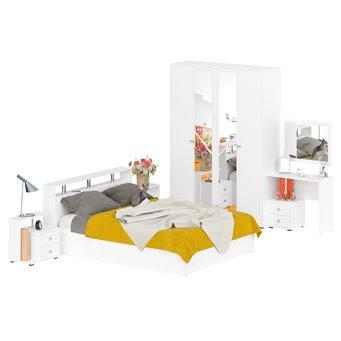 Спальня Камелия № 2 с кроватью 1600 белый