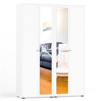 Шкаф 4-х створчатый Камелия белый