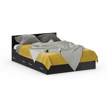 Кровать с ящиками Стандарт 1400 венге