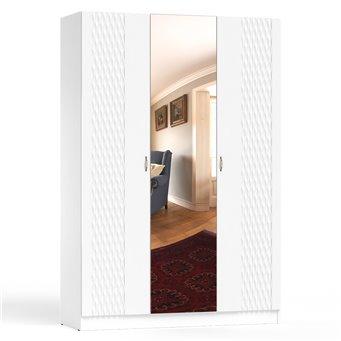 Шкаф Ручеёк 1500 белый/белый глянец